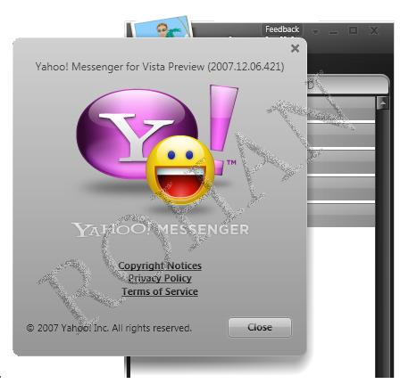 Yahoo Messenger 2010